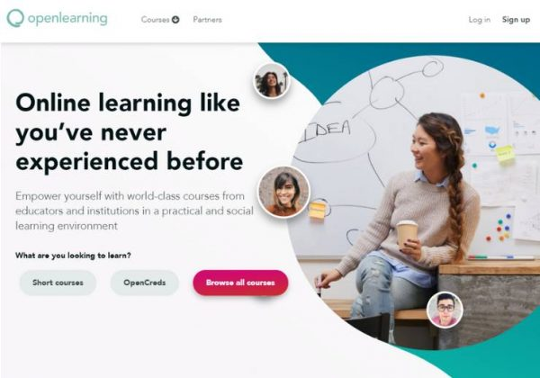 Openlearning website