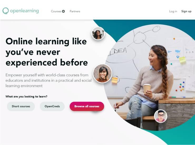 Openlearning website