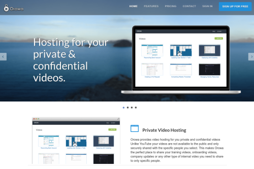 Orowa Video Hosting