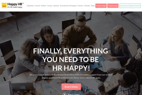 HappyHR HR Software