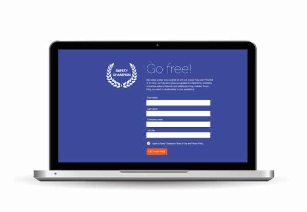 Safety Champion free safety management software