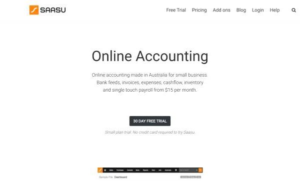 Saasu Australian Accounting Software
