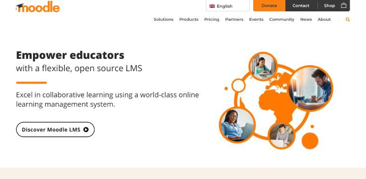 moodle-website
