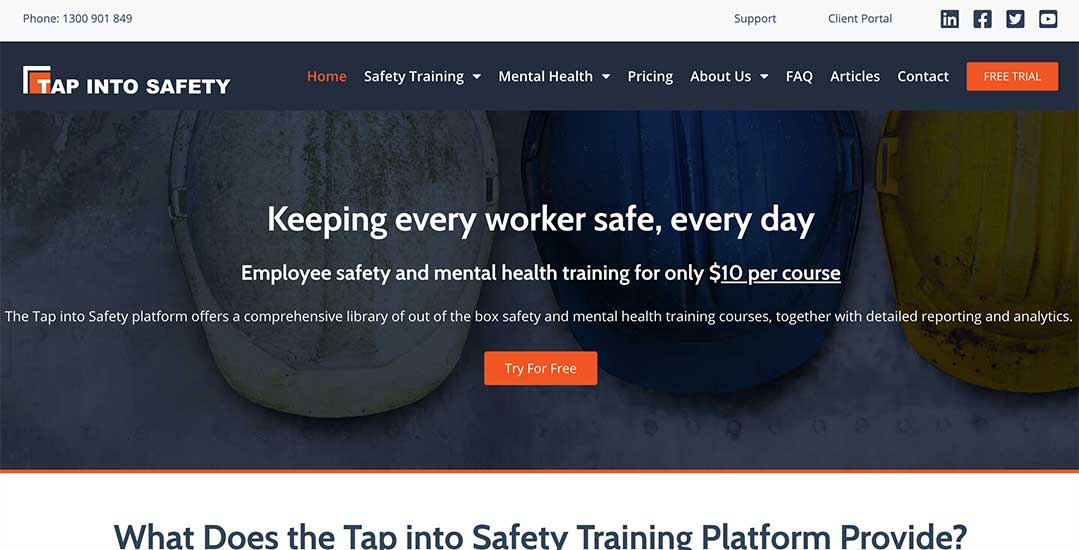 Tap Into Safety – interactive safety training