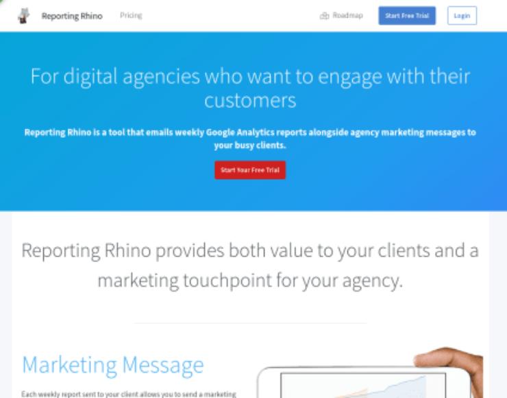 Reporting Rhino