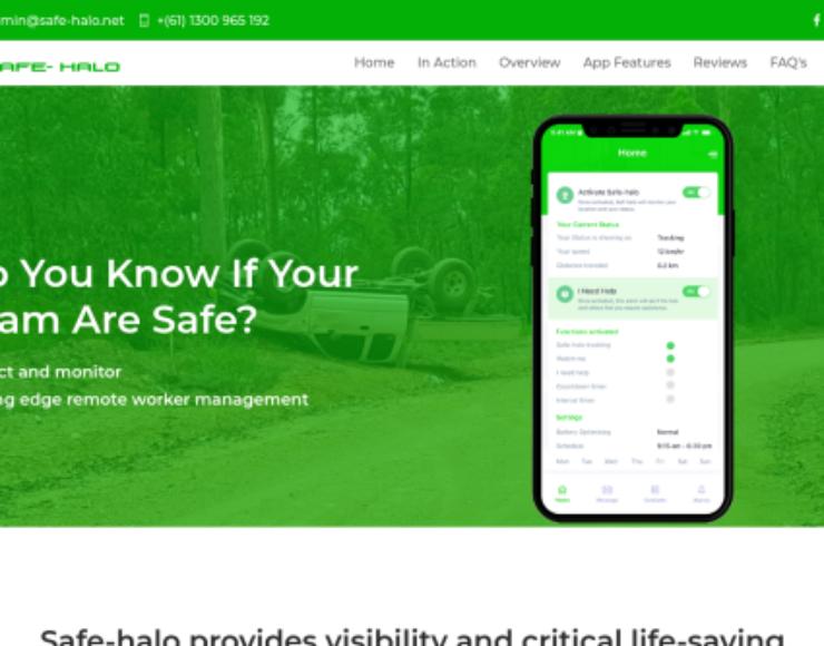 Safe-Halo: Remote Worker Management System